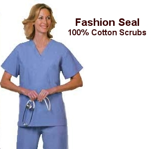 Fashion Seal 100 Cotton Scrubs