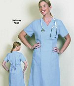 Ladies Step In  Scrub Dress by Fashion Seal