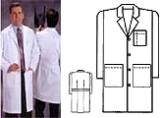 House of Scrubs Model 150 Lab Coat