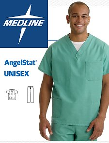 Angelica Men's Lab Coats by Medline