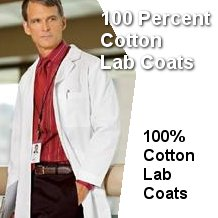 100% Cotton Lab Coats
