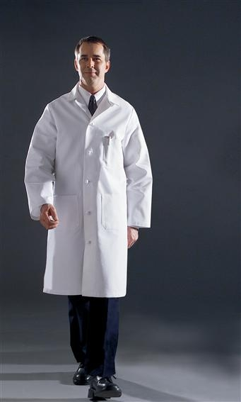 Angelica Lab Coat - Men's Premium Full Length-317TNS