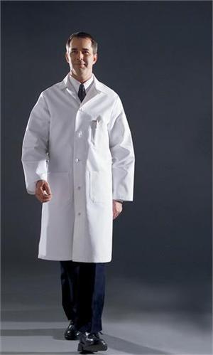 Angelica Lab Coat - Men's Premium Full Length-317TNS