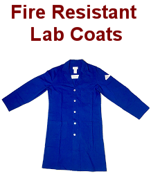 fire resistant lab coats
