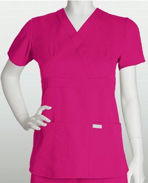 Womens Greys Anatomy 3 Pkt Mock Wrap 4153
