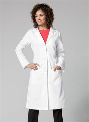 003ec11b799 Women's 100% Cotton Lab Coat by WonderWink-Carhartt