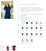 jockey womens v neck  colors