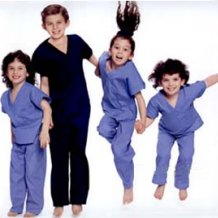 category kids scrubs
